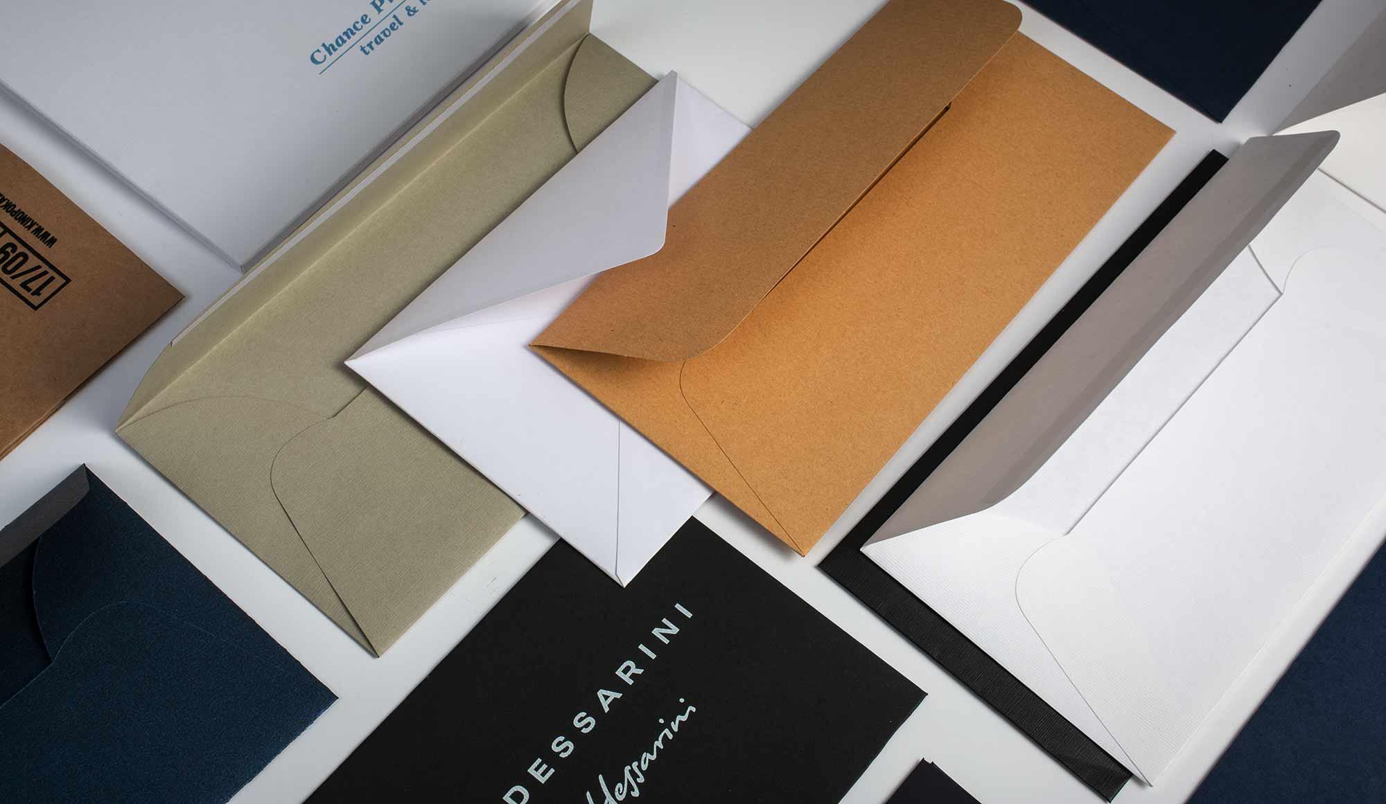 корпоративные конверты с логотипом