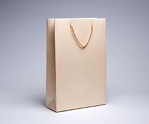 бумажный пакет - бежевый под печать